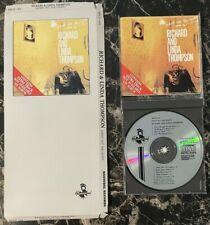 RICHARD THOMPSON Shoot Out The Lights Original 1990 LONGBOX With CD FREE SHIP!