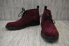 Calvin Klein Ultan 34F0500 Chukka Boots, Men's Size 9.5, Wine