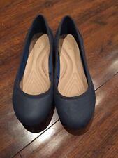 Crocs Women's Blue Flat Shoe -  Size 6.5 (uk)