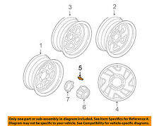 MITSUBISHI OEM 95-01 Eclipse Wheel-Lug Nut MB579290