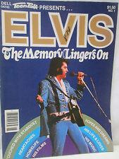 Teen Talk Presents Magazine 1979 Elvis Presley The Memory Lingers On