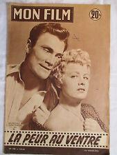 MON FILM 506 (1956) LA PEUR AU VENTRE JACK PALANCE SHELLEY WINTERS MARINA  VLADY