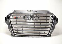 Audi A3 S3 Vorne Stoßstange Kühlergrill 8V5853651D1RR Neu Original