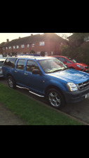 isuzu rodeo 2.5 RARE 4X2 £4300 going to trade in end of weekend
