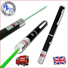 Green Laser Pointer Pen Fascio Professional Luce Penna Fascio Lazer 1mw 532nm