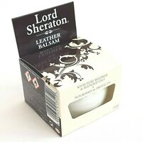 Lord Sheraton Leather Balsam 75ml Pure Beeswax & Oils Nourishes Polish Protects