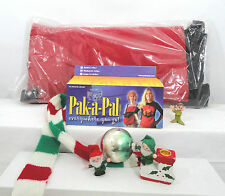 """New Large (13-22 Lbs) Personal  """"Pet Carrier""""  by Pak-A-Pal Santa Claus Red"""