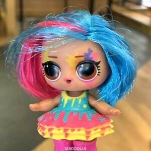 Lol Surprise Splatters Hairgoals Makeover Series Hairspray Doll Color change