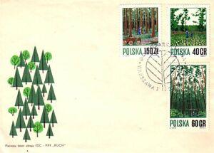 Poland Tree Farming FDC cover (88)
