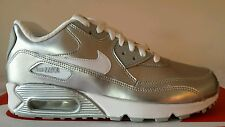 NIKE AIR MAX 90 PREMIUM LEATHER N.36 ARGENTO PELLE EDIZIONE LIMITATA OKKSPORT