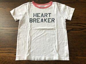 Boy's J. CREW CREWCUTS Heart Breaker Tee - Size 8