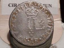 8CL(521) - LOUIS XIV - PIECE DE XXX DENIERS - 1711 D - RARE & DE QUALITE !