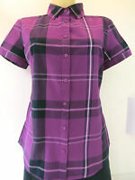 ladies Tommy Hilfiger Purple  Shirt/Blouse,.Office-Casual  R.R.P £49.50