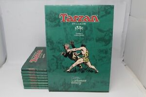 TARZAN IN COLOR BURROUGHS FOSTER FLYING BUTTRESS 9 VOLUMI [W009-001]