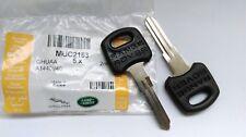 Genuine Range Rover Classic key blank uncut Set of 2 MUC2153