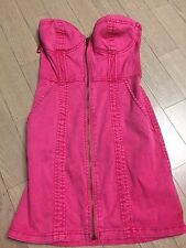 H&M Pink Denim Dress
