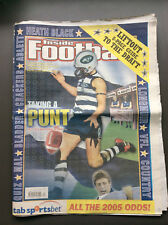 INSIDE FOOTBALL AFL #1107 December 16th 2004 Includes 8 Page Guide To The Draft