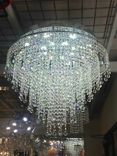 Crystal Chandelier with Dimmable white LED Ceiling light Lamp It-PL-60LED/20Ball