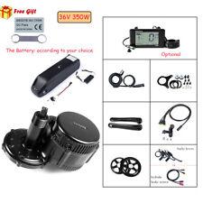 BAFANG 36V350W Mid Drive Crank Motor Electric Bike Conversion Kit w/ Battery New