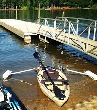 PERFECT FISHING KAYAK!,great condition,stable!!!,stabilizers, 10ft,ACCESSORIES!!