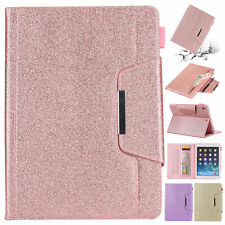for iPad 7th Gen 10.2 Shockproof Glitter Leather Folding Folio Case Smart Cover