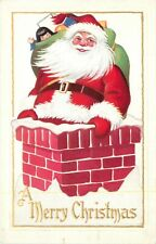 "Santa Claus, ""A Merry Christmas"", Santa In The Chimney"