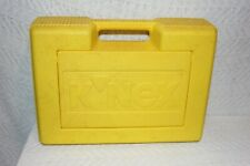 Vintage Knex 15 Building Toy Set Possibly a Motorcycle building set in hard case