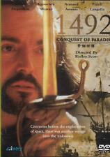 1492 Conquest of Paradise DVD Gerard Depardieu Sigourney Weaver NEW R0