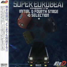ORIGINAL SOUNDTRACK - SUPER EUROBEAT PRESENTS INITIAL D 4TH STAGE NEW CD