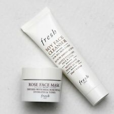 SEPHORA Beauty Insider FRESH Soy Face Cleanser & Rose Face Mask New In Box
