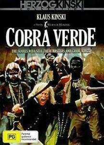 Cobra Verde DVD Klaus Kinski Brand New and Sealed Australia