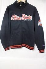 CHAMPION Ohio State BUCKEYES Cotton Blend Zipper Jacket Adult Size M-B87