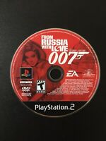 From Russia With Love 007 (Sony PlayStation 2, 2005) Tested + Free Shipping!!!
