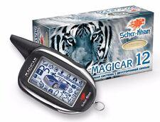 SHER-KHAN Magicar 12 car alarm 2000m autostart 434 MHz CAN-bus K-Line Slave-mode