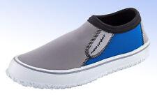 NEOSPORT Men's Water & Deck Shoes - Blue/Grey - Size 8