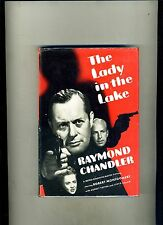 1ST ED PHOTOPLAY-THE LADY IN THE LAKE- RAYMOND CHANDLER-1943-MOVIE DJ-HI GRADE