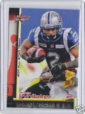 2011 Extreme CFL CFLPA All-Stars Brandon Whitaker Montreal Alouettes Rookie RC