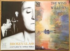 Selection of individual National Theatre programmes 1990s, West End programme