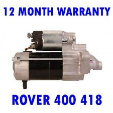 ROVER 400 418 SALOON 1991 1992 1993 - 95 REMANUFACTURED STARTER MOTOR