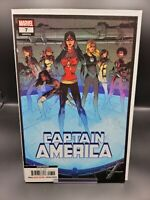 CAPTAIN AMERICA 7 2018 2nd PRINT VARIANT - 1st Daughters of Liberty Cover