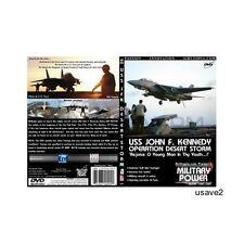 """USS John F Kennedy (JFK) Aicraft Carrier- Military Navy DVD Video-""""Desert Storm"""