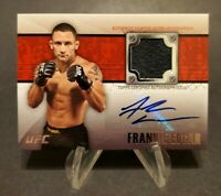2011 Topps UFC Title Shot Fighter Relics Autographs #FAR-FE Frankie Edgar