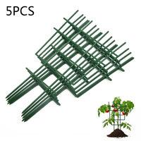 Set Of 5 Pcs Garden Trellis For Lattice Climbing Vine Pots Support Plant Trellis