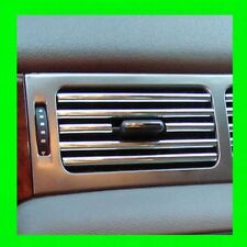 FOR SUBARU CHROME INTERIOR DASH/AC VENT TRIM MOLDING W/5YR WRNTY