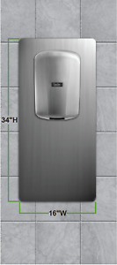 Excel Dryer ThinAir NDTA-SB Customized Back Plate
