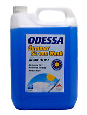 Odessa Screen Wash Ready To Use Removes Dirt Streak Free -5L