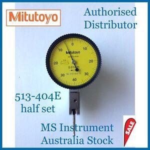 Genuine NEW Mitutoyo  513-404E Dial Test Indicator | Basic Set | Australia Stock