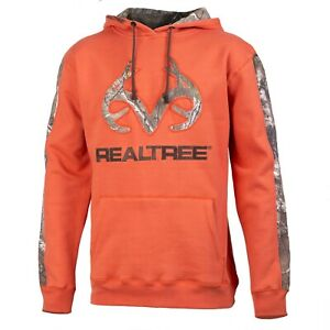 Realtree Pine Sweatshirt Hoodie Men's XL Realtree Xtra Camo Orange Rust NEW