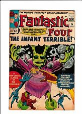 "Fantastic Four No.24  : 1964 :   : ""The Infant Terrible!"" :"