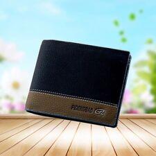 Fashion Men's Leather Wallet Pocket Credit Card Clutch Bifold Purse Black Bag